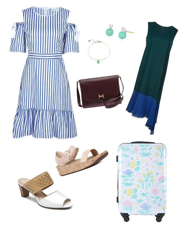 편안한 스타일이지만 엣지있게…휴가철 '공항 패션' 스타일링